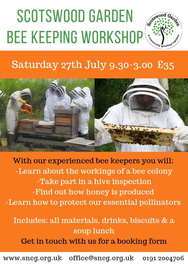 July 2019 beekeeping workshop