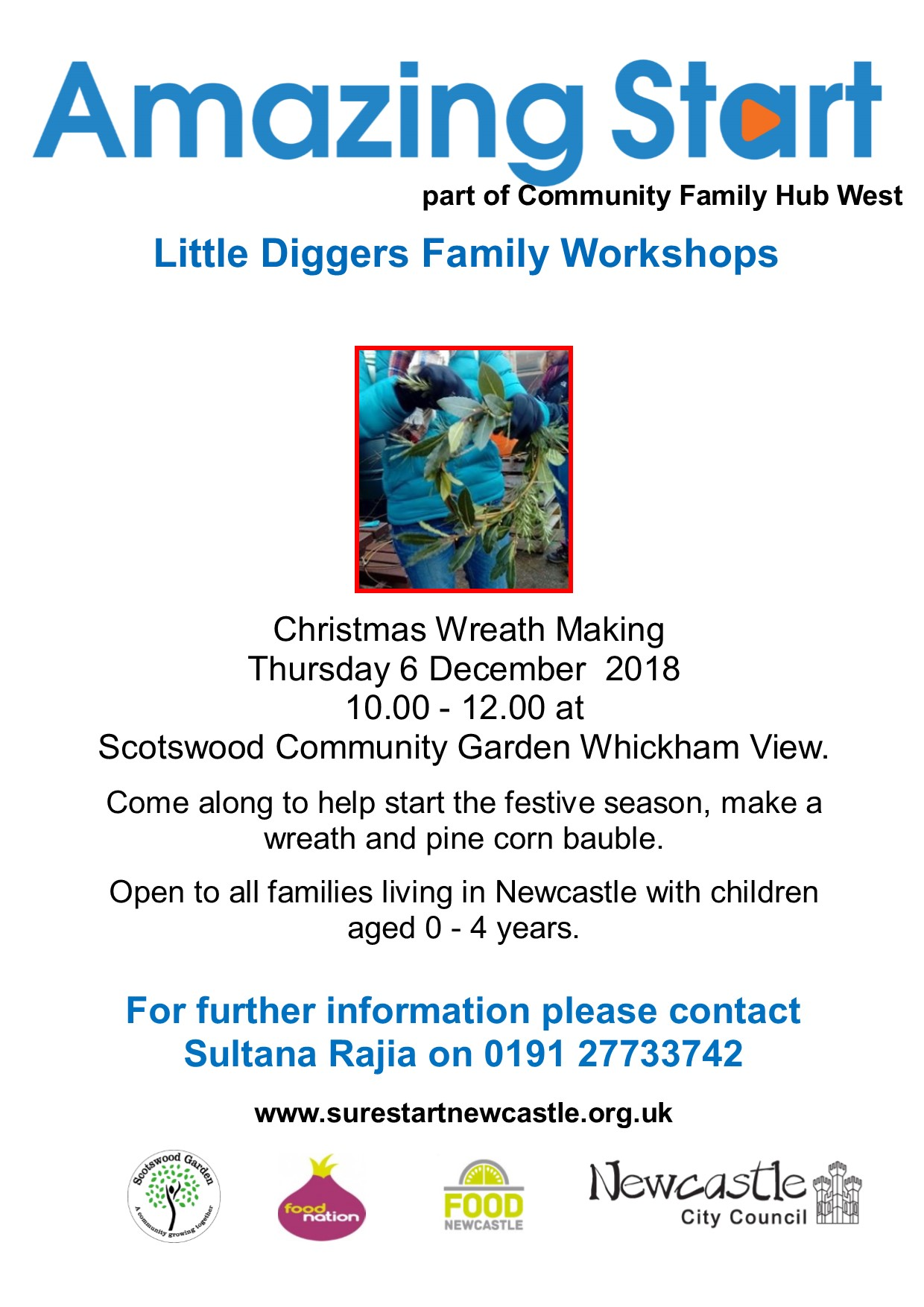 Little Diggers christmas 2018
