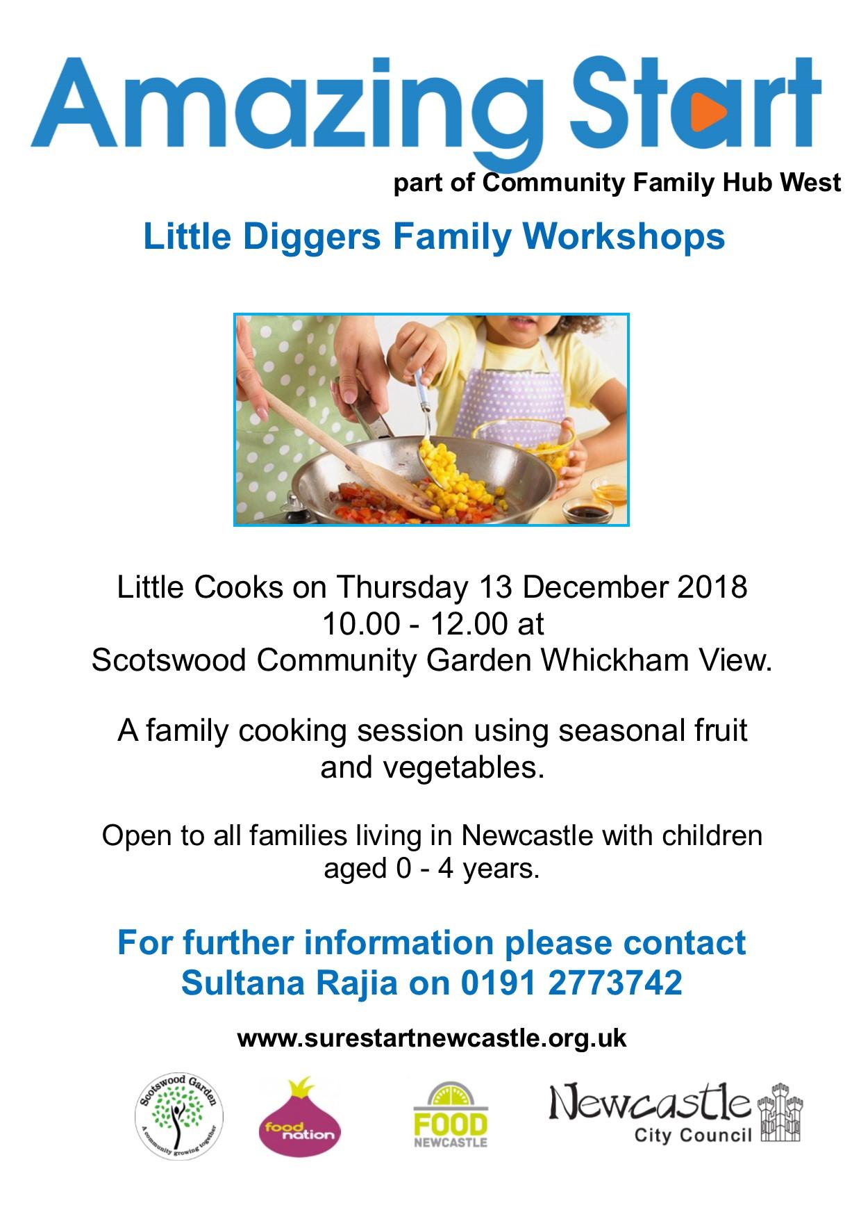 Little Diggers little cooks december 2018 1