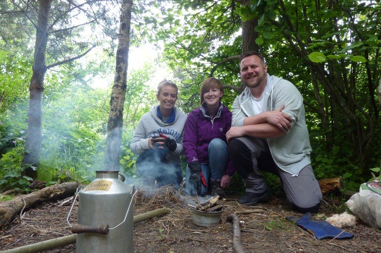 Forest School Training, Newcastle, UK